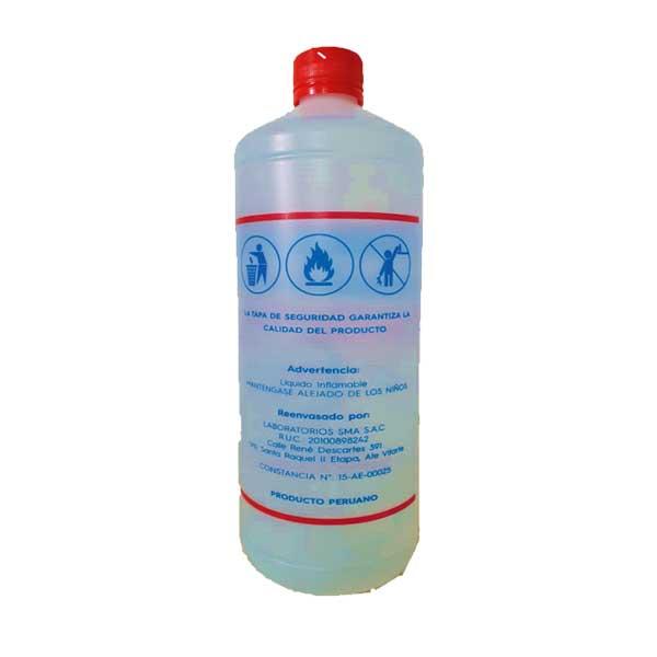 ALCOHOL DE BOTIQUIN - 96 GRADOS - CORONAVIRUS