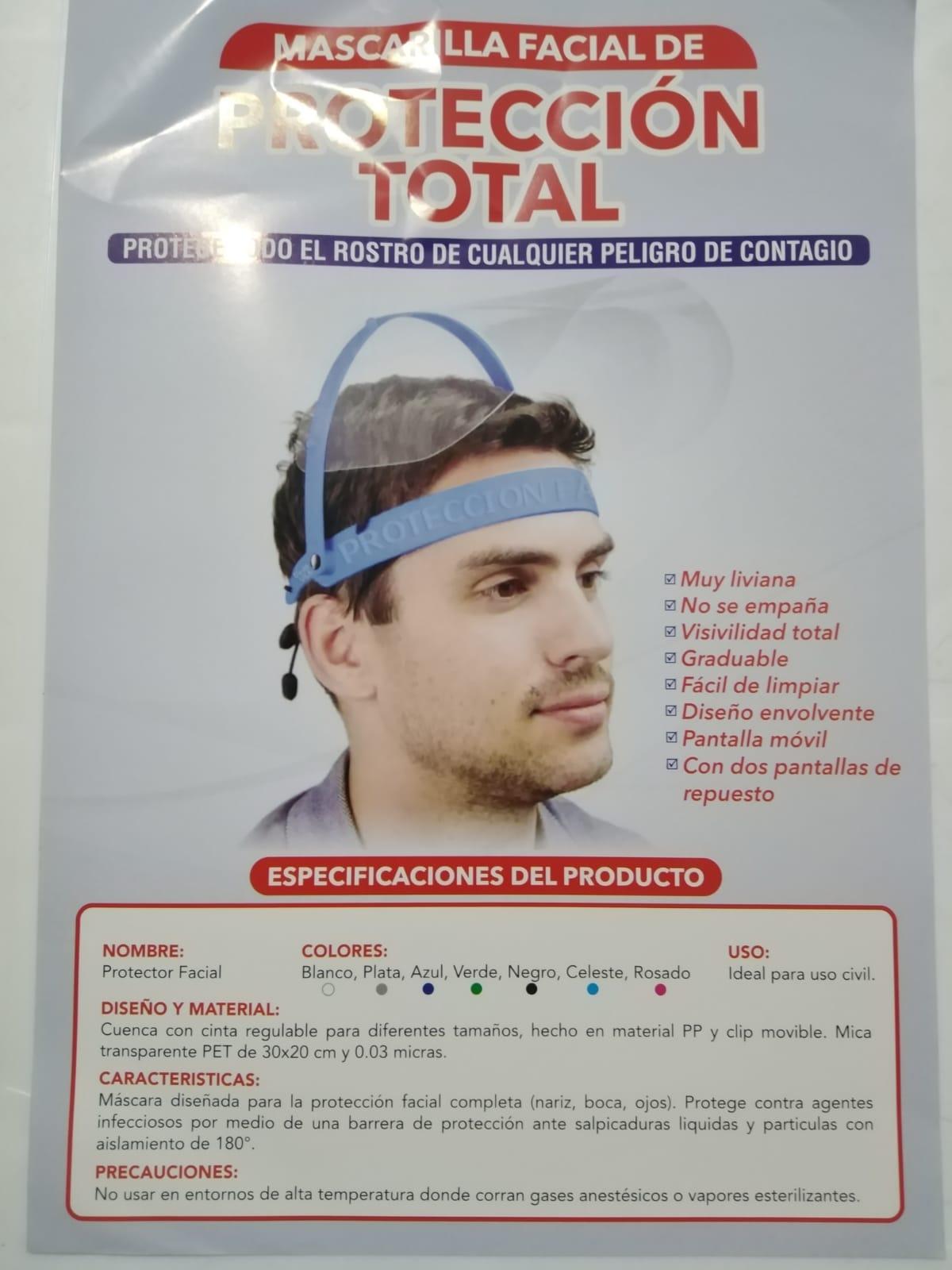 Empaque - Mascarilla Facial - Proteccion Total